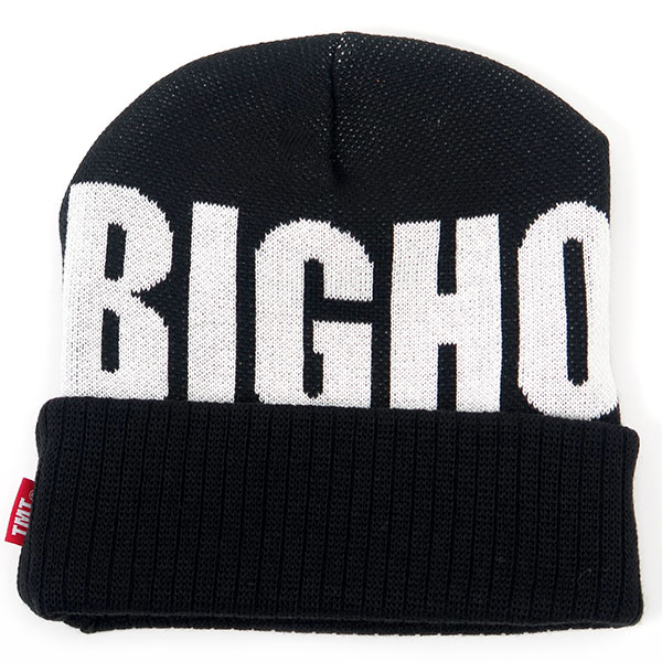JACQUARD LOGO KNIT CAP (BIGHOHIDAY)/BLACK