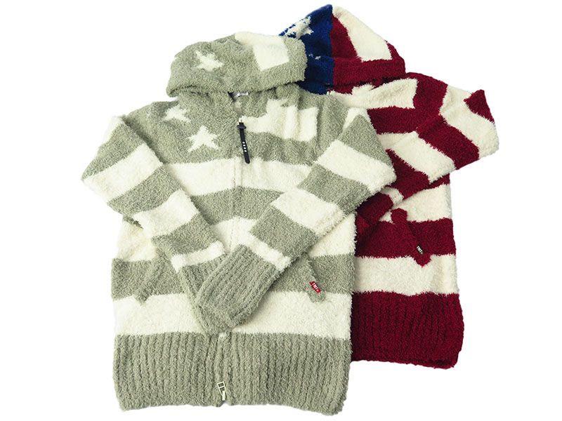 SHAGGY BOA US FLAG KNIT(TKN-F1708)