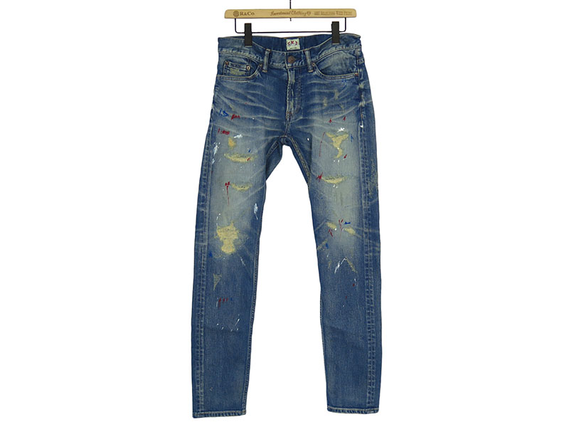 STRETCH LONESTAR-PAINT DENIM 5P TAPERED (TPT-F1706)