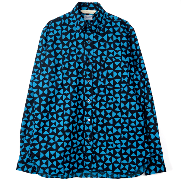 TENDERLOIN x THE STYLIST JAPAN B.D SHIRT /BLUE