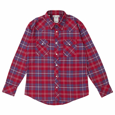 FOUR CORNERS SHIRT L/S(GIZA)