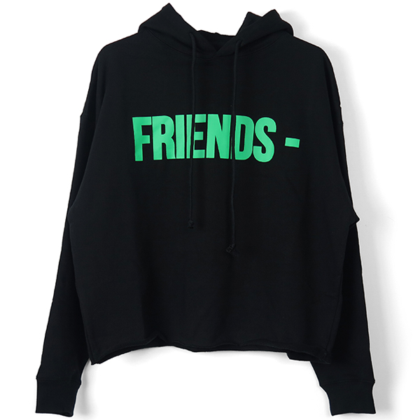 FRIENDS HOODIE/BLACK/GREEN