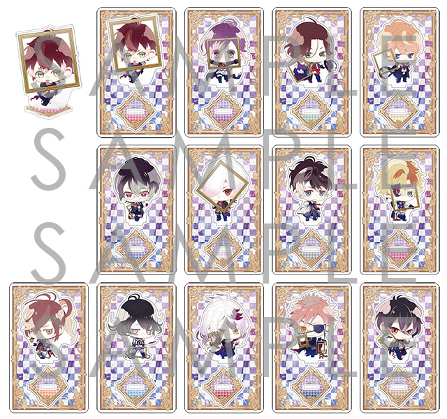 【30%OFF_WINTER_SALE_2018】DIABOLIK LOVERS Portraitアクリルフィギュアスタンド
