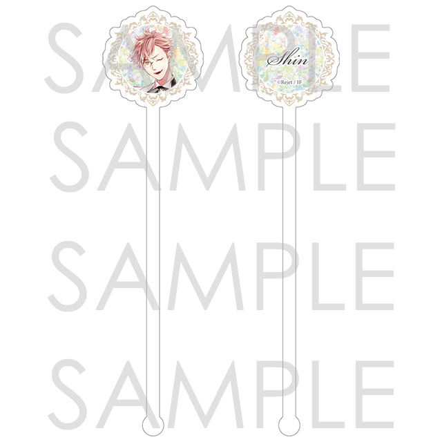 DIABOLIK LOVERS Masquerade Jewel アクリルマドラー シン