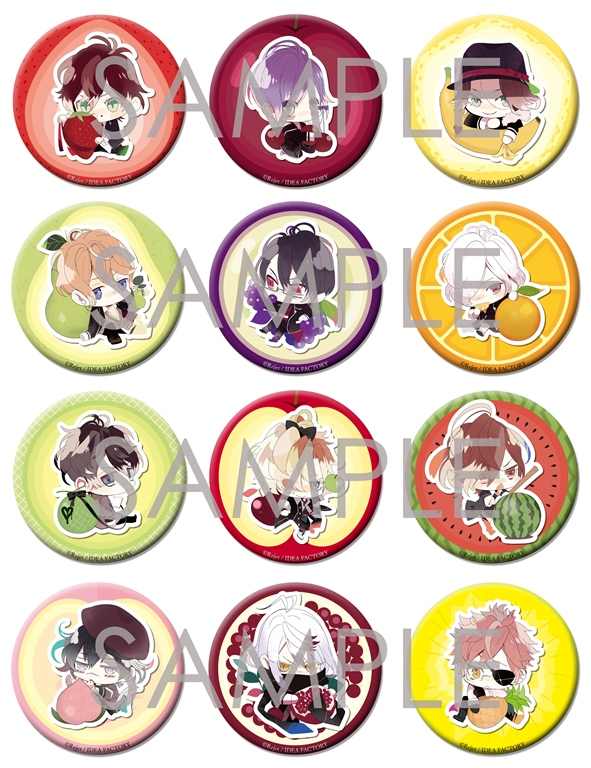 【50%OFF_SPRING_SALE_2019】DIABOLIK LOVERS ビッグ缶バッジ Vol.1