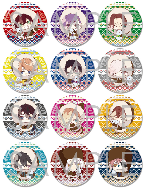 【30%OFF_SUMMER_SALE_2018】【SKiT Dolce限定】DIABOLIK LOVERS ビッグ缶バッジ2015 Vol.5