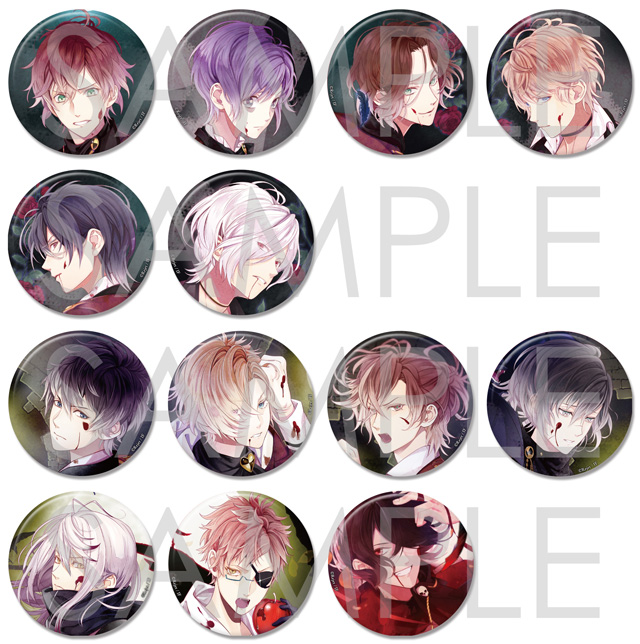 DIABOLIK LOVERS LOST EDEN ビッグ缶バッジ