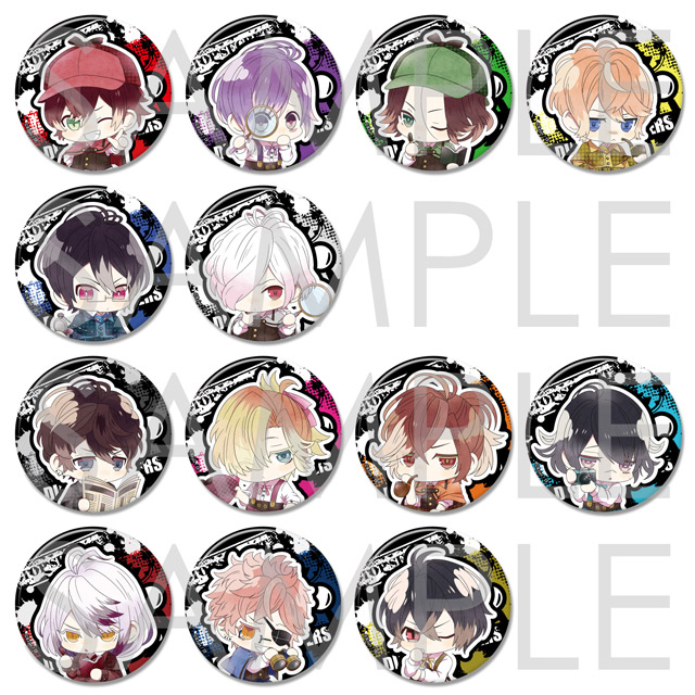 【30%OFF_SUMMER_SALE_2018】【SKiT Dolce限定】DIABOLIK LOVERS 真相解明(フォーカス)ちびっこヴァンパイア ビッグ缶バッジ