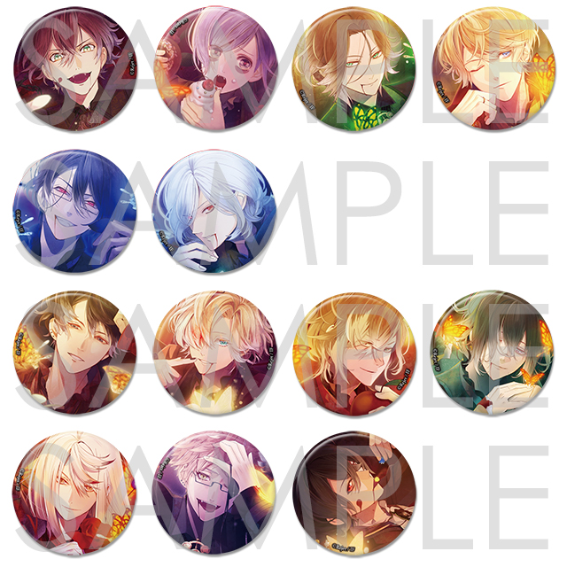 【50%OFF_WINTER_SALE_2018】DIABOLIK LOVERS Para-Selene ビッグ缶バッジ