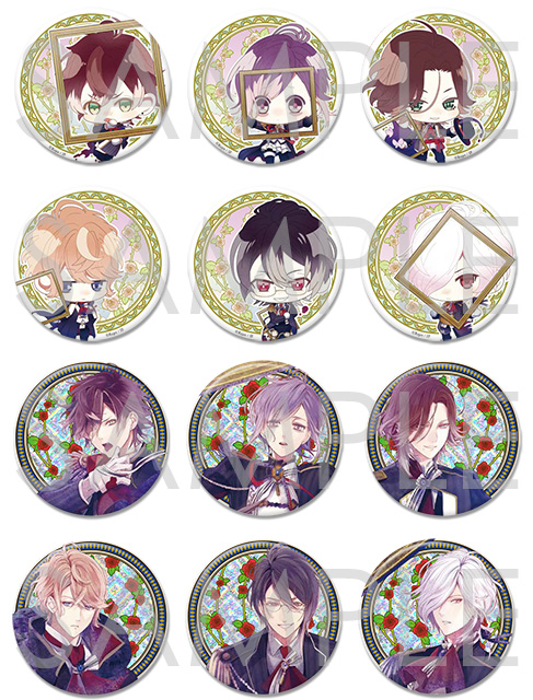 DIABOLIK LOVERS Portrait缶バッジ Type A