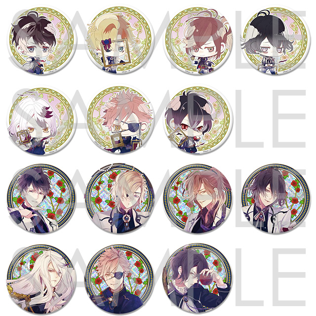 DIABOLIK LOVERS Portrait缶バッジ Type B