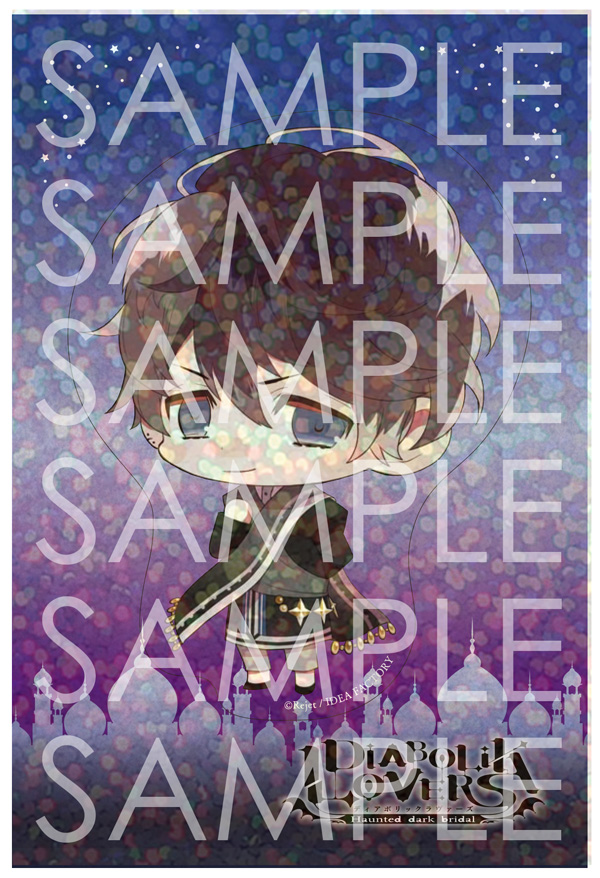 【50%OFF_SPRING_SALE_2019】DIABOLIK LOVERS Limited Shop  クリアステッカー ルキ