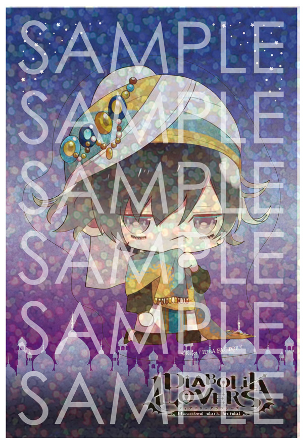 【50%OFF_SPRING_SALE_2019】DIABOLIK LOVERS Limited Shop  クリアステッカー アズサ