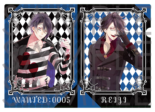 DIABOLIK LOVERS クリアファイル レイジ