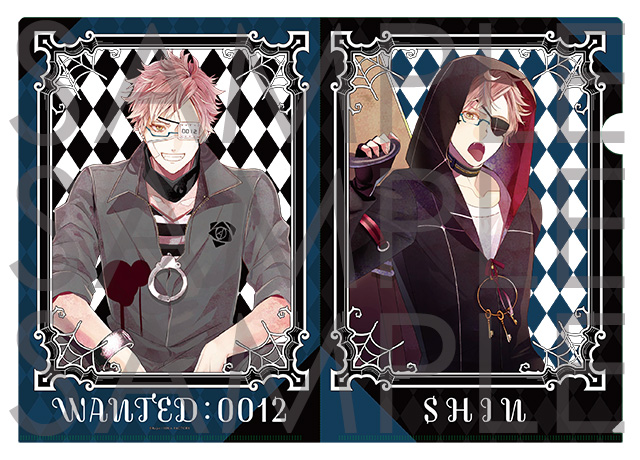 DIABOLIK LOVERS クリアファイル シン