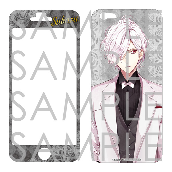 DIABOLIK LOVERS BLOODY BOUQUET iPhone6 スキンシール スバルVer.