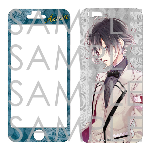 DIABOLIK LOVERS BLOODY BOUQUET iPhone6 スキンシール アズサVer.