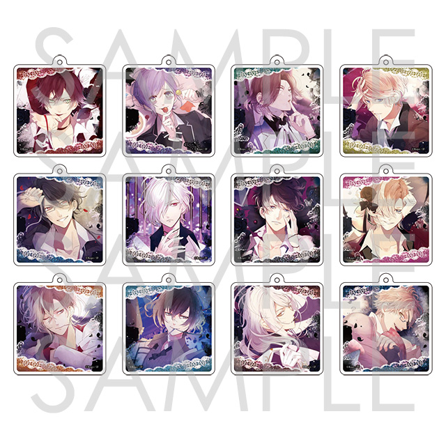 DIABOLIK LOVERS BLOODY BOUQUET クリアチャーム