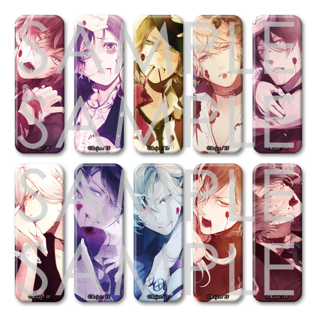 DIABOLIK LOVERS MORE,BLOOD ロング缶バッジ
