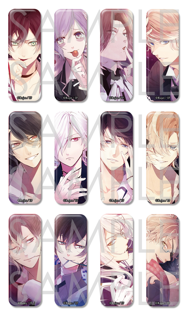 【50%OFF_SUMMER_SALE_2019】DIABOLIK LOVERS BLOODY BOUQUET ロング缶バッジ