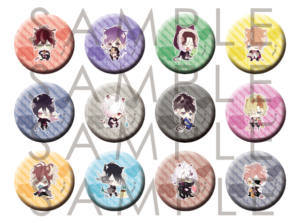【50%OFF_SPRING_SALE_2019】DIABOLIK LOVERS 缶バッジ2014 vol.2