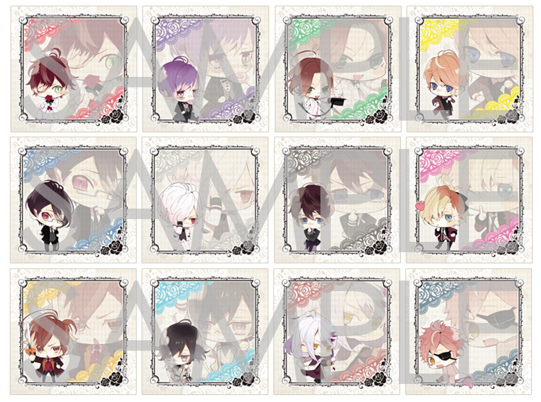【50%OFF_SPRING_SALE_2019】DIABOLIK LOVERS BLOODY BOUQUET トレーディングマイクロファイバークロス