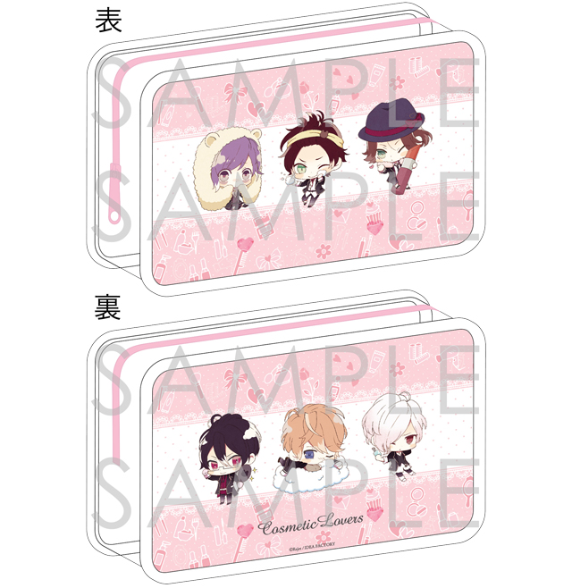 DIABOLIK LOVERS COSMETIC LOVERS ビューティーポーチ for Girl 逆巻Ver.