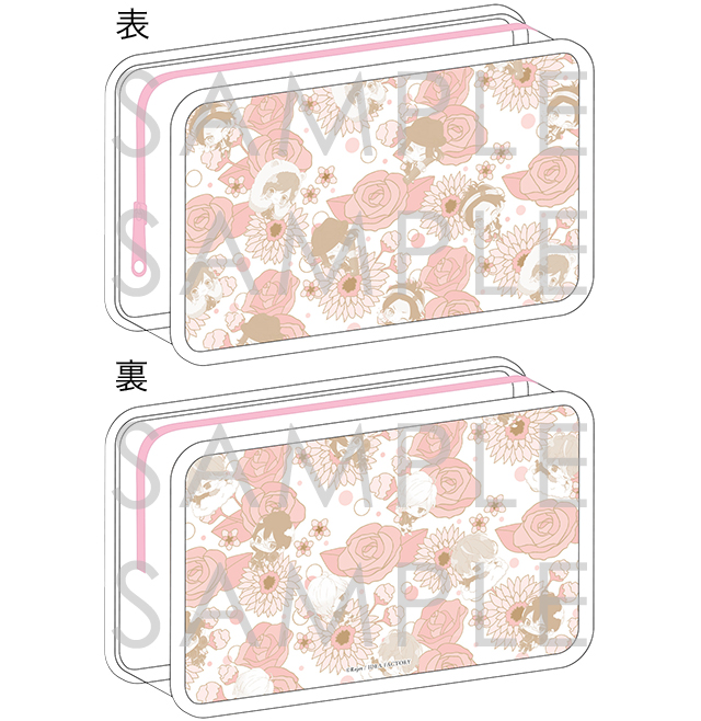 DIABOLIK LOVERS COSMETIC LOVERS ビューティーポーチ for Woman 逆巻Ver.