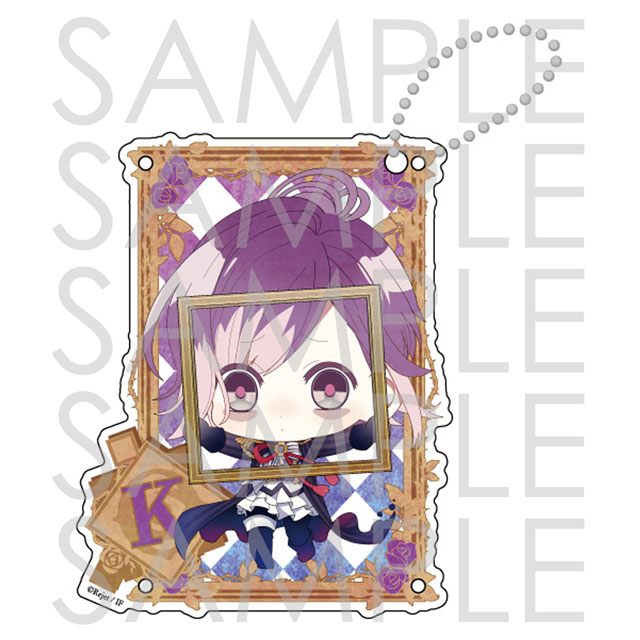 【30%OFF_WINTER_SALE_2018】DIABOLIK LOVERS ZEROアクリルパスケース カナト