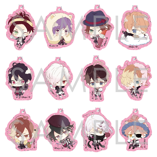 【30%OFF_SUMMER_SALE_2018】DIABOLIK LOVERS COSMETIC LOVERS キラキラアクリルストラップ