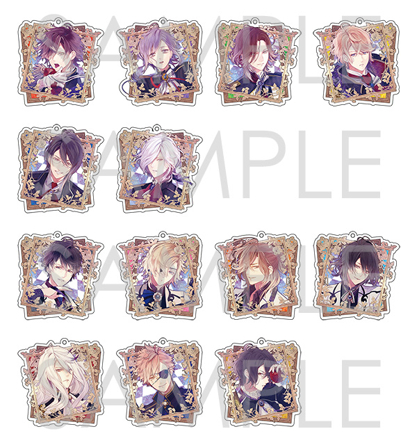 【50%OFF_WINTER_SALE_2018】DIABOLIK LOVERS Portraitアクリルストラップ