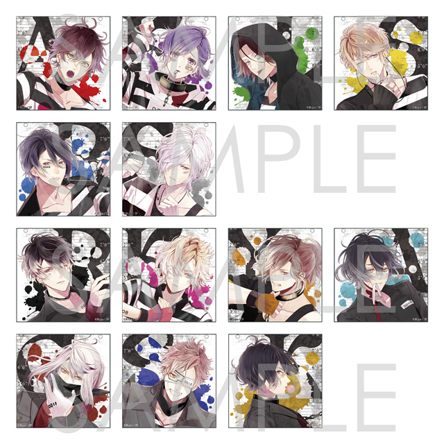 DIABOLIK LOVERS Bloody Prisoner アクリルストラップ