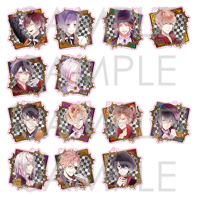 DIABOLIK LOVERS CHAOS LINEAGE アクリルストラップ