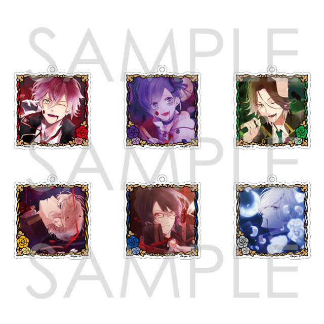 DIABOLIK LOVERS Sadistic Song アクリルストラップ