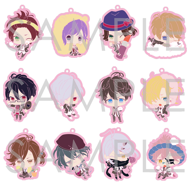 【30%OFF_SUMMER_SALE_2018】DIABOLIK LOVERS COSMETIC LOVERS ラバーストラップ