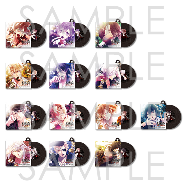 DIABOLIK LOVERS MORE, MORE BLOOD ラバーストラップ