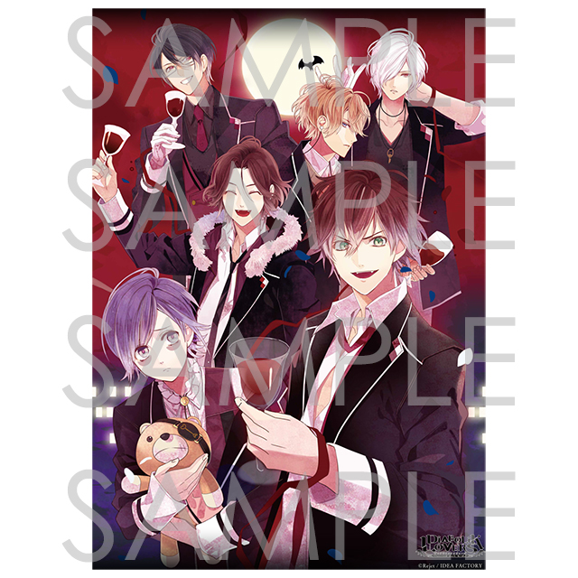 DIABOLIK LOVERS Rejet 10th Anniversary B2タペストリー