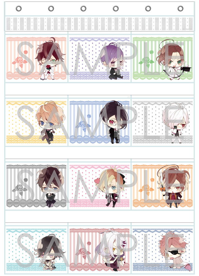【60%OFF_WINTER_SALE_2018】DIABOLIK LOVERS ウォールポケット