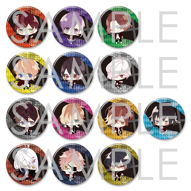 DIABOLIK LOVERS LOST EDEN ビッグ缶バッジ 2016 Vol.2