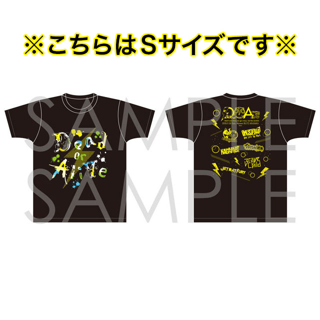 【CR69Fes.2018】Dead or Alive オフィシャルTシャツ Brave Child Ver. Sサイズ