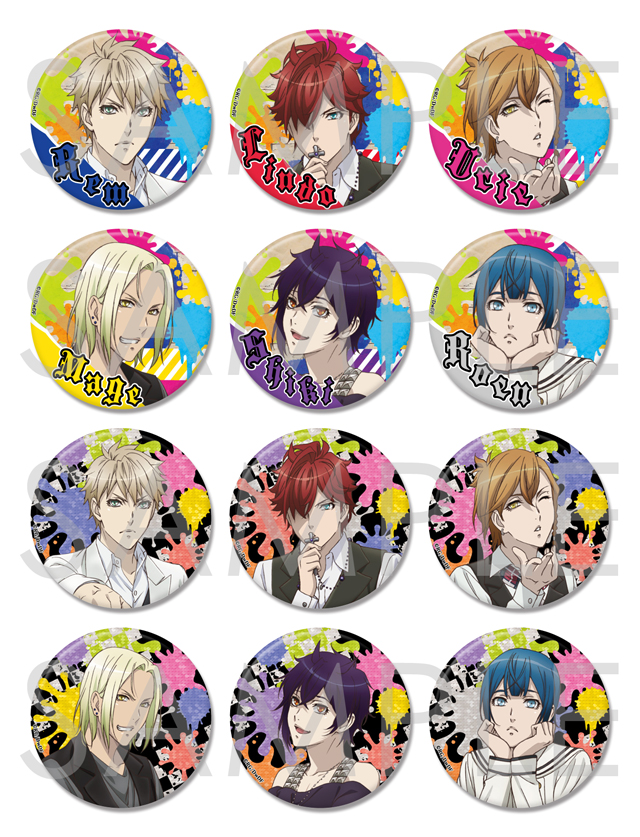 【50%OFF_WINTER_SALE_2018】Dance with Devils Twin Lead ビッグ缶バッジ 2017 Vol.1