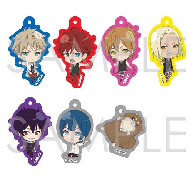 【30%OFF_SUMMER_SALE_2018】Dance with Devils -Twin Lead- キラキラアクリルストラップ