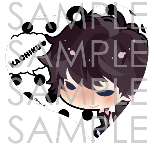【50%OFF_WINTER_SALE_2019】DIABOLIK LOVERS ハート型パスケース ルキ
