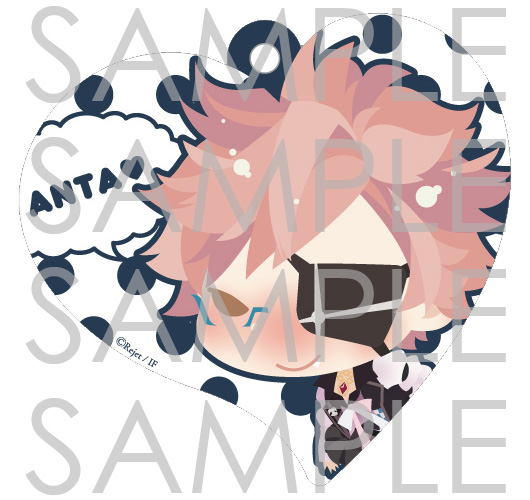 【50%OFF_WINTER_SALE_2019】DIABOLIK LOVERS ハート型パスケース シン