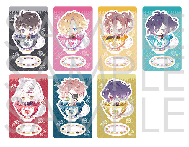 【50%OFF_SPRING_SALE_2019】Rejet Collection AFTERNOON LOVERS アクリルフィギュアコレクション Type B