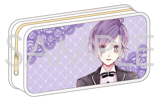 【50%OFF_SPRING_SALE_2019】DIABOLIK LOVERS BLOODY BOUQUET ペンケース(カナト)