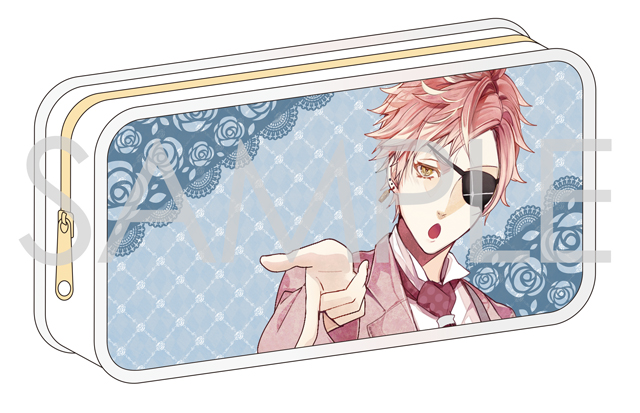 【50%OFF_SPRING_SALE_2019】DIABOLIK LOVERS BLOODY BOUQUET ペンケース(シン)