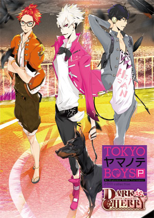[PSP]TOKYOヤマノテBOYS Portable DARK CHERRY DISC ※特典付