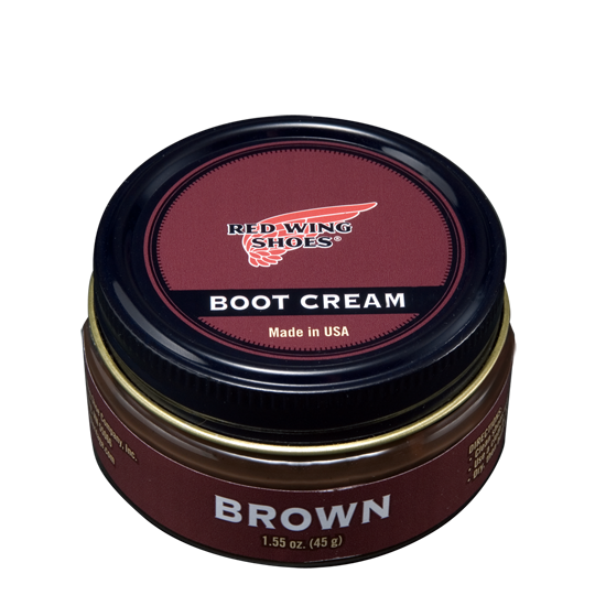 Boot Cream Brown