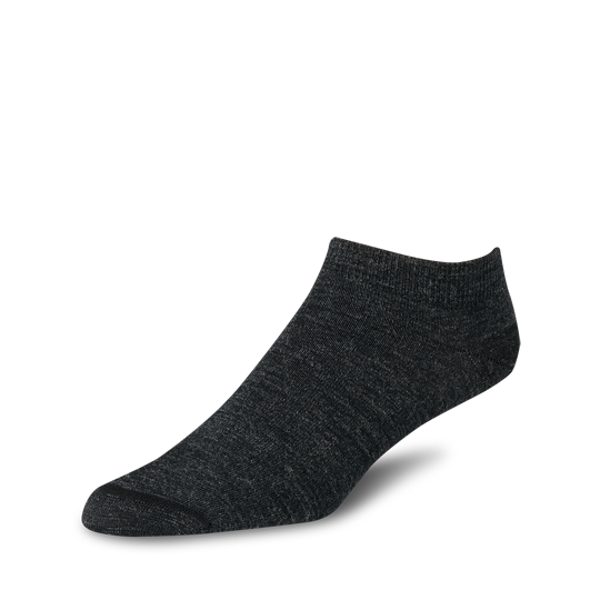 Wool Footie Charcoal